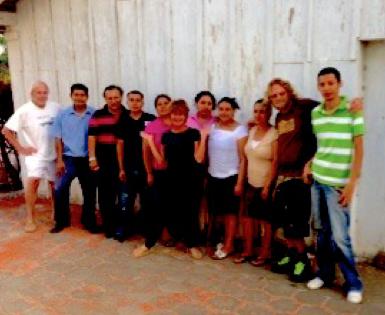 Nomadic crew in Nicaragua