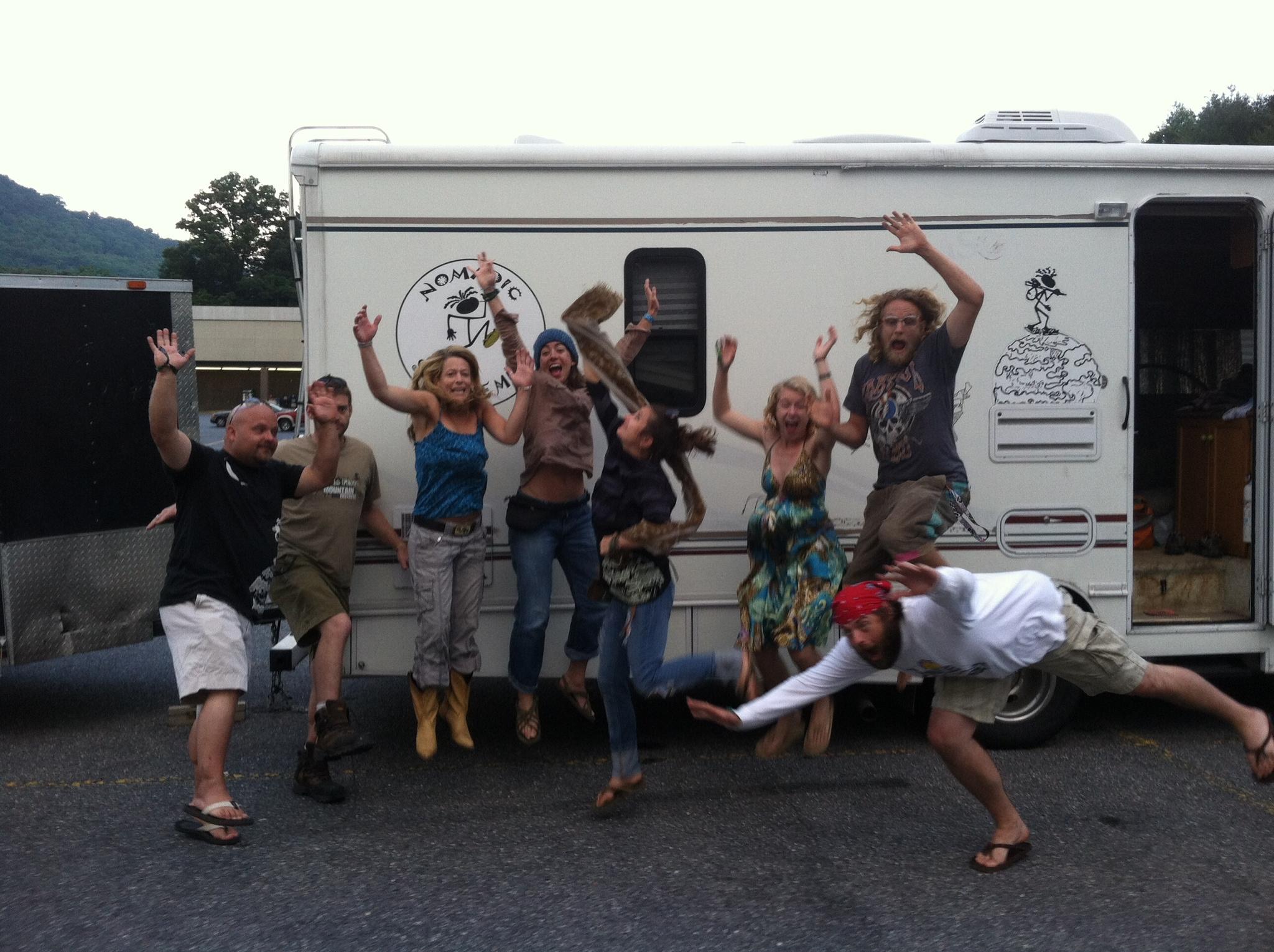 Nomadic crew in United States