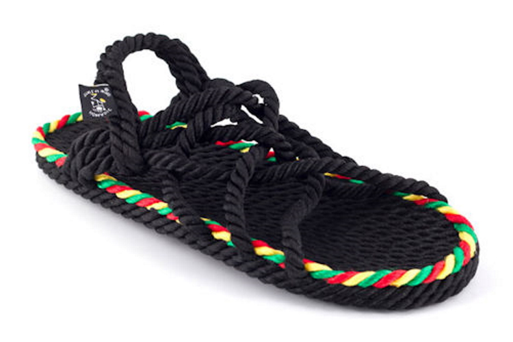 Nomadic State Of Mind JC Sandal - Rasta - zonder loopzool
