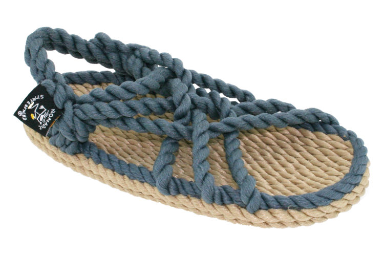 Nomadic State Of Mind Kids sandals camel/denim