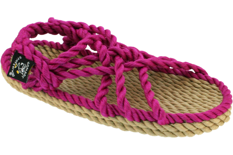 Nomadic State Of Mind Kids Sandals - Camel Fuchsia